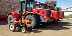 Comparison of the cost of operation of tractors